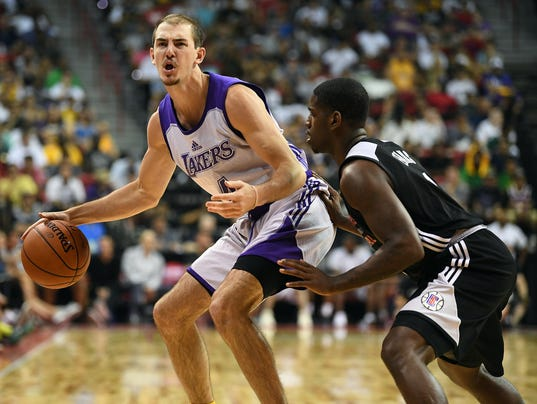 NBA: Summer League-Los Angeles Clipper at Los Angeles Lakers