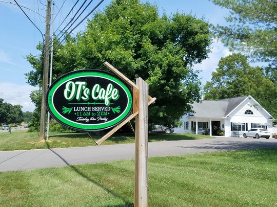OT's Cafe is about 45 minutes from Evansville and the sweetest spot ever for a delightful lunch and sack of baked goodies to take home.