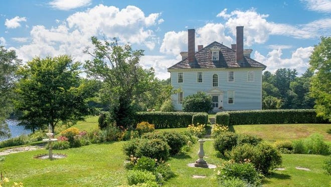 The National Park Service's Save America's Treasures program recently awarded a $165,000 grant to Historic New England for repair and preservation work at Hamilton House in South Berwick.