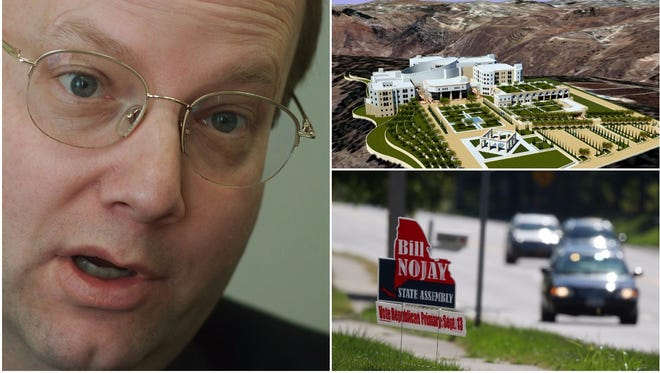Speculative business deals on two continents had collapsed, and Bill Nojay was accused of the same sort of government corruption he had railed against so often.