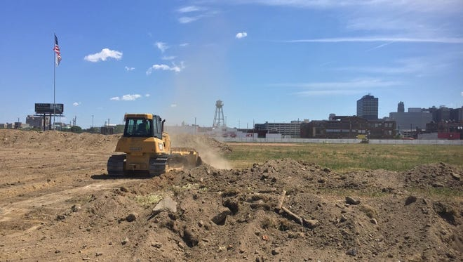 The Old Tiger Stadium on Monday, June 27, 2016. Joe Michnuk of the Navin Field Grounds Crew -- a group of volunteers who maintained the old stadium -- snapped these photos Monday after construction officially began.