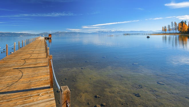Fall is the perfect time to come visit Lake Tahoe.