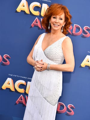 During the Nashville Songwriters Hall of Fame Galaat the Music City Center on Oct. 28, Reba McEntire will receive the organization's first Career Maker Award.