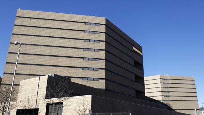 The Hamilton County Jail.