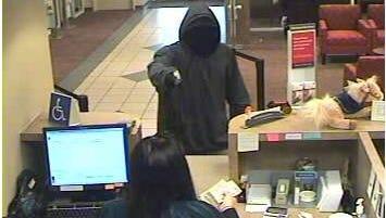 Robbery suspect at Wells Fargo Bank