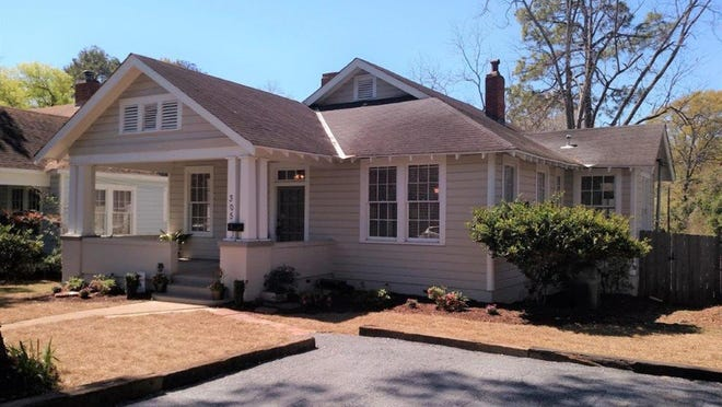One Capitol Heights home, which was built in 1928, is for sale for $84,900 and includes three bedrooms and two bathrooms within 1,452 square feet of living space. The home is located on North Lewis Street.