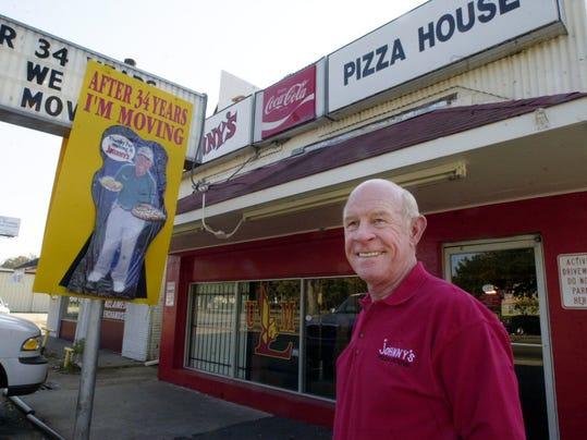 Johnny's Pizza Johnny Huntsman November 2001