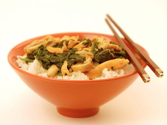 ... quick stir-fry for Monday night dinner. (Photo: Courier-Post file