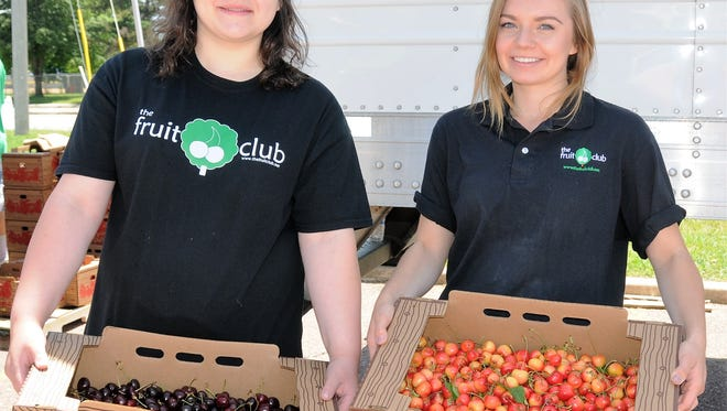 The Fruit Club has hired 60 seasonal employees to help deliver fruit through August.