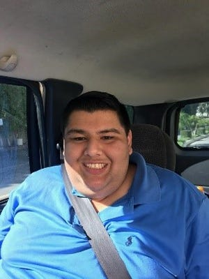 Nicholas Penazola, 23, was reported missing Thursday from his Oxnard homes.