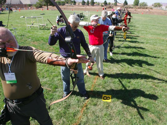 Senior Games archery