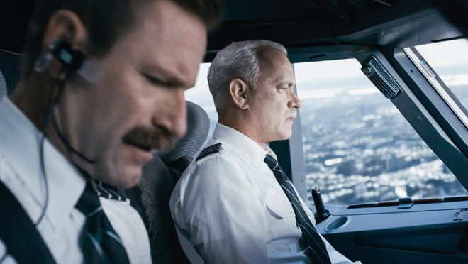 """Aaron Eckhart and Tom Hanks star in """"Sully."""""""