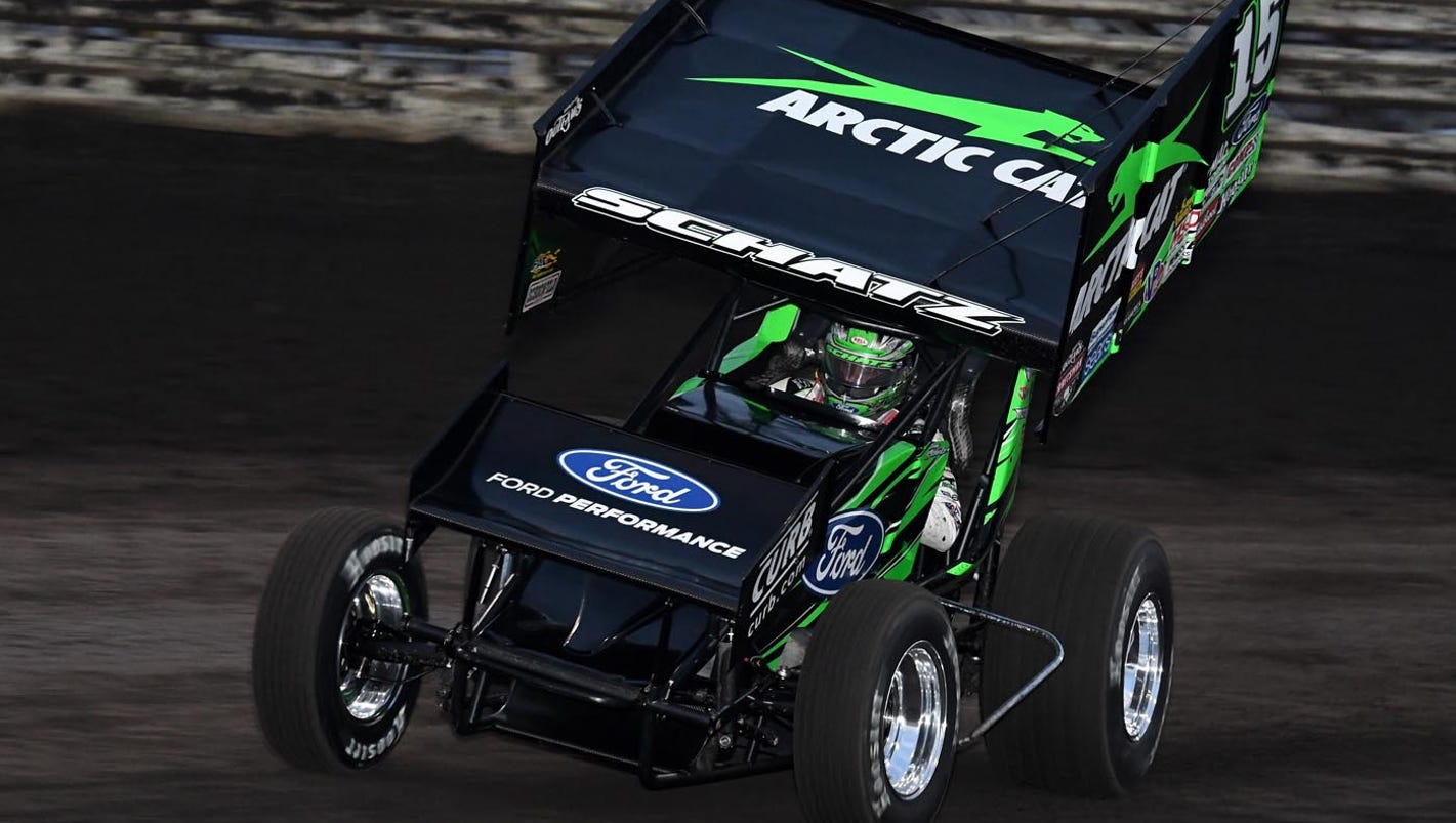 Knoxville Nationals Donny Schatz Wins 10th Title By