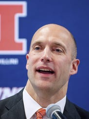 Illinois athletic director Josh Whitman, a Harrison graduate, has been recognized as one  of the Top Forty Under 40 by Sports Business Journal.