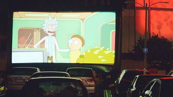The Adult Swim Drive-In will bring unconventional cartoons to Nashville.