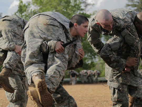 U.S. soldiers participate in  Ranger School at Fort