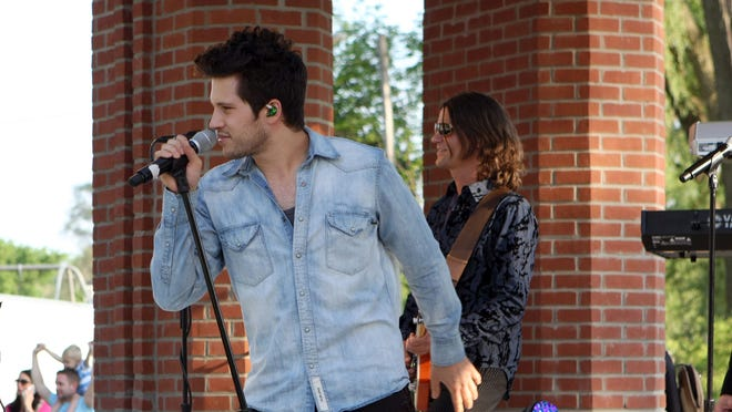 Fifty Amp Fuse, with members pictured here performing at a 2015 concert in Milford, will take the stage in Brighton Aug. 13.