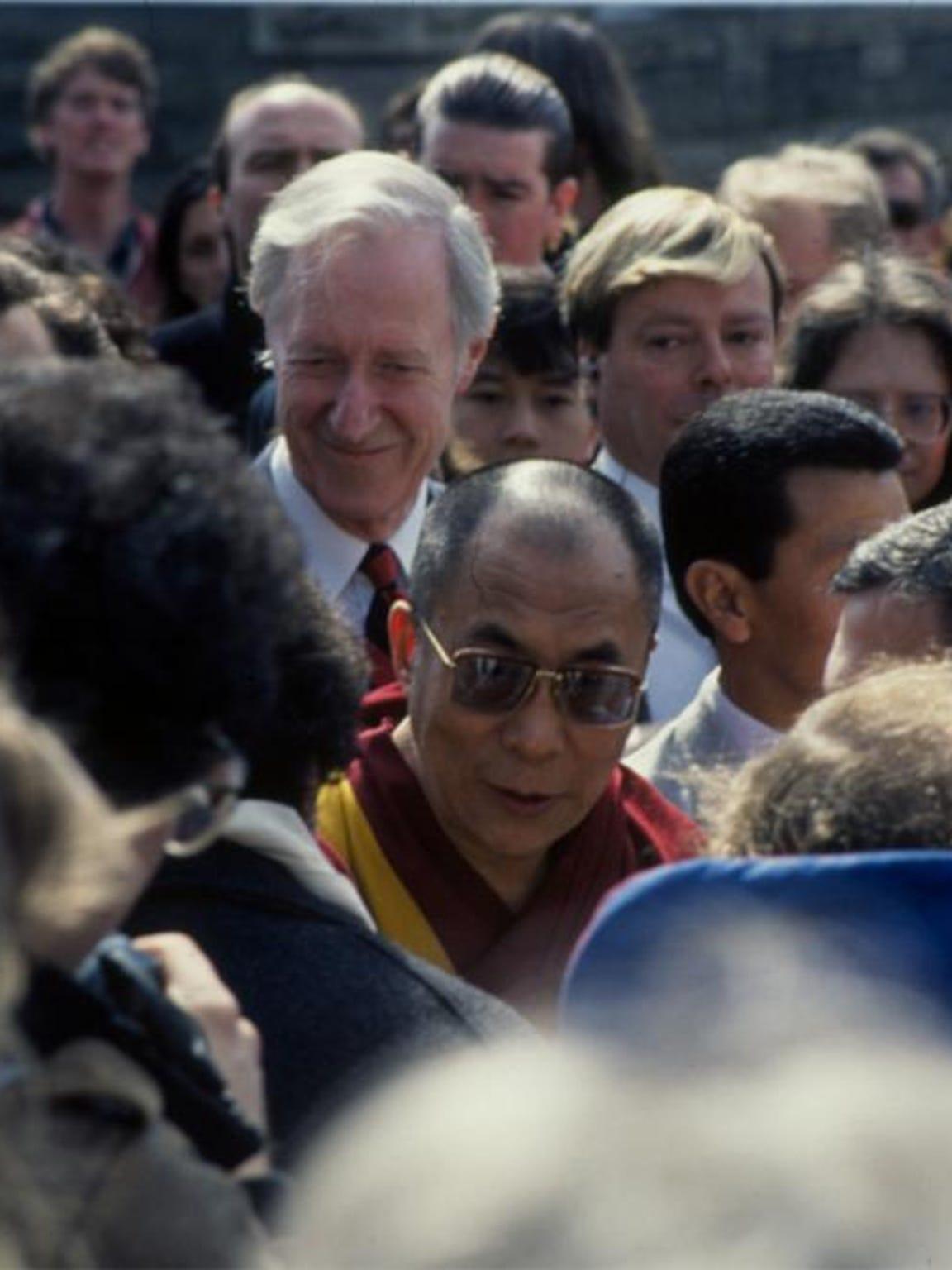 The Dalai Lama visited Cornell in 1991.