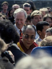 The Dalai Lama visited Cornell in 1991.