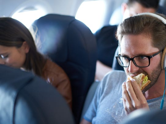 By all means, pack a sandwich for the flight. But if