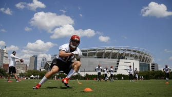 Cincinnati Bengals wide receiver Michael Bennett is one of many players who are hoping to have made a strong impression on the coaching staff as roster cuts come down this week.