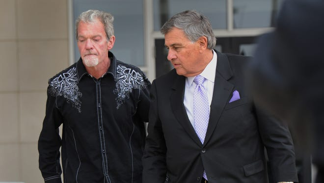 Colts owner Jim Irsay was arrested on preliminary charges of impaired driving and possession of controlled substances March 16 in Carmel, Ind.