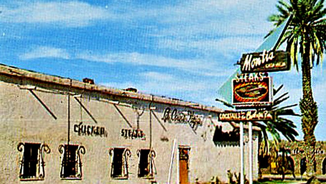 A 1959 postcard depicted the east face of the Hayden House, then called Monti's La Casa Vieja. With two skyscrapers planned just feet away, the Valley's oldest building is now an imperiled entity.