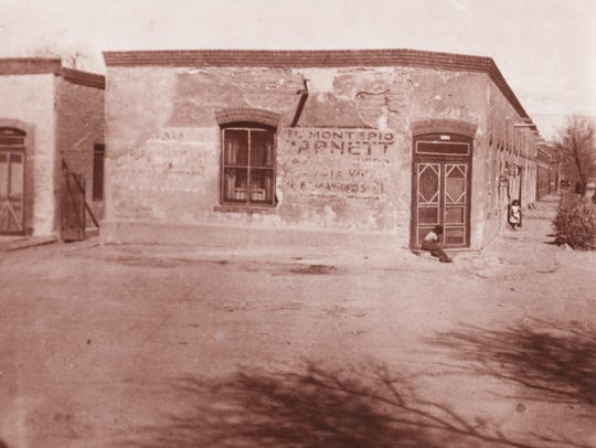 Early grocery store founded by the Jose Felix Silva
