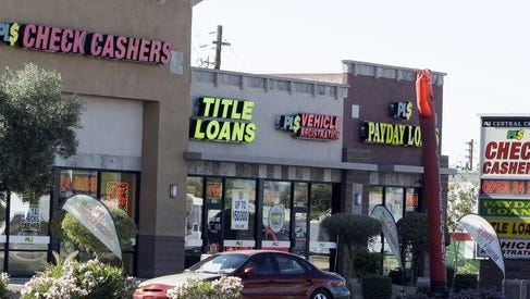 Escambia, Santa Rosa, Okaloosa and Bay counties produce fewer payday loans per person than the state does as a whole, according to recently completed research by the University of West Florida Haas Center for Business Research & Economic Development.