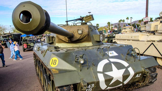 World War Two American M18 Hellcat tank destroyer with 76mm main gun. It was the fastest armored vehicle in the American defense inventory of the 20th century.