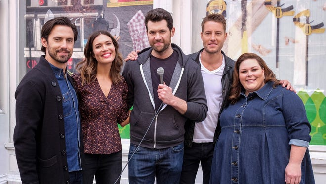 An new 'Billy on the Street' features the cast of 'This Is Us.'