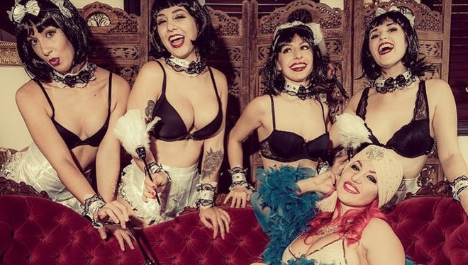 On March 2, Middlesex County-based Vivi Noir and her Noir Follies burlesque troupe will celebrate the second anniversary of their monthly Le Vaudeville Noir at Roxy & Dukes Roadhouse in Dunellen.