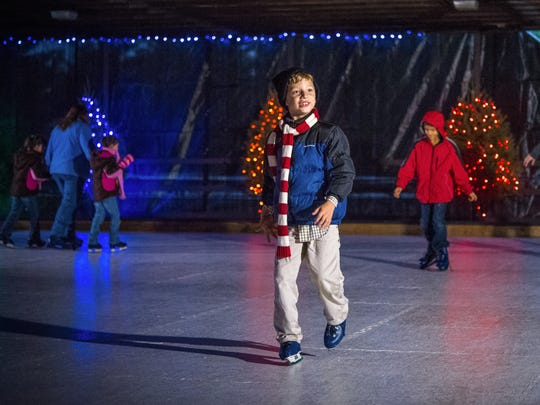 guests of christmas candylane can enjoy rudolphs skating - Christmas At Hershey
