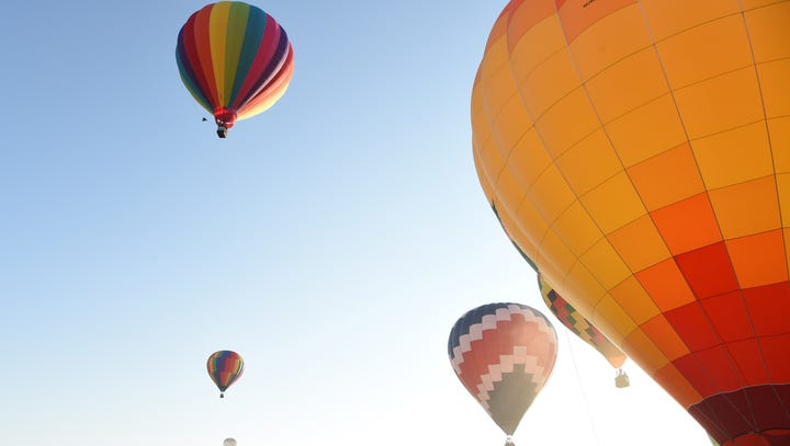 Hot-air balloon festivals to take flight this holiday weekend