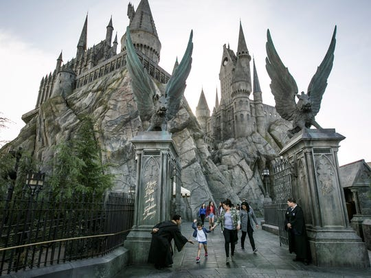 Hogwarts Castle in the Wizarding World of Harry Potter