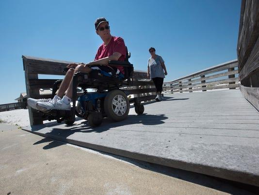 Wheelchair Access-Navarre Beach