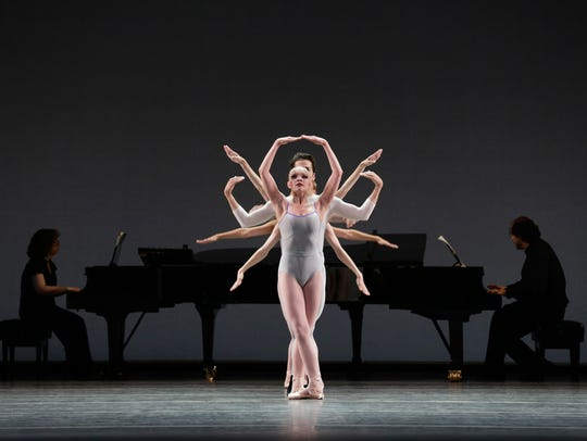 """Lydia Wellington and company members perform """"In Creases"""""""