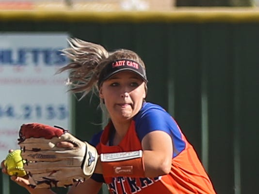 Central vs Copperas Cove softball April 4, 2017