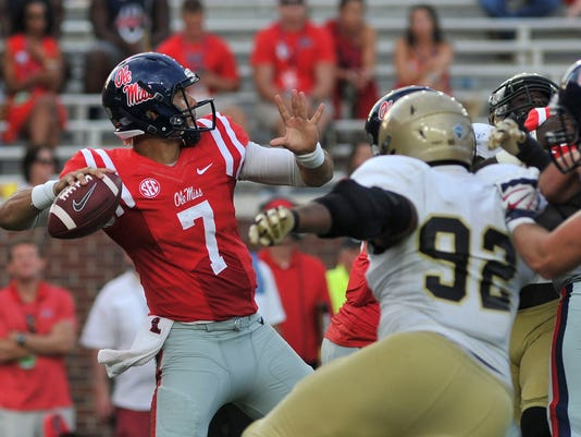 NCAA Football: Wofford at Mississippi