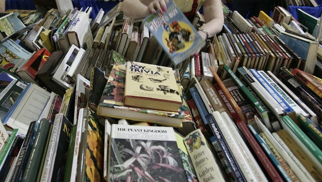 Volunteerism fuels Bookstock, Michigan's largest used book sale, which has raised more than $1 million for education and literacy causes in metro Detroit and begins this Sunday at Laurel Park Place in Livonia.