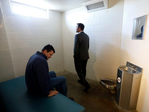 Inmates Use Temporary Bunk Beds At 122 Million