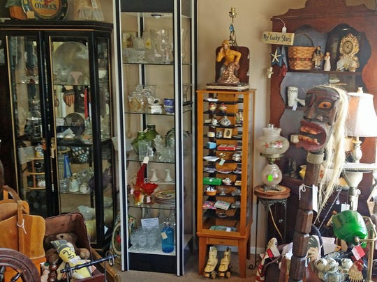 Blue Moon Antiques Collectibles & Furniture in Cape Coral sells antiques, collectibles and treasures.