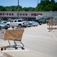 Hy-Vee says Harding Hills store will reopen after knee-high floodwater inundated aisles. But it's going to take awhile