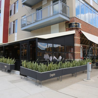Empire Kitchen & Cocktails is located at the corner