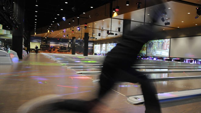 Luxury bowling is a big part of the entertainment experience at Latitude 360, 4016 E. 82nd St., as shown on Jan. 5, 2013.