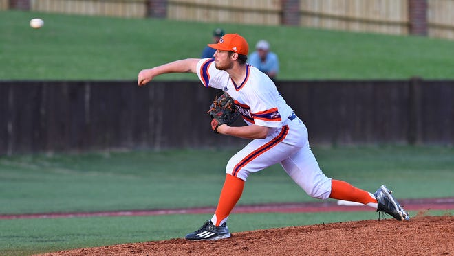 Northwestern State pitcher Adam Oller earned his 17th career victory on Friday.