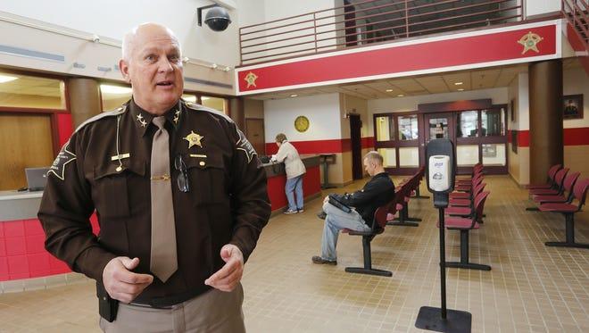 Tippecanoe County Sheriff Barry Richard