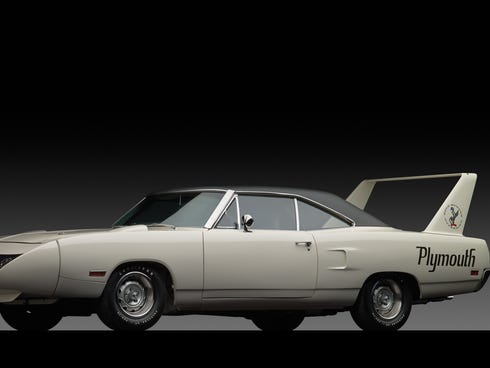 The 1970 Plymouth Road Runner Superbird was created to win at NASCAR