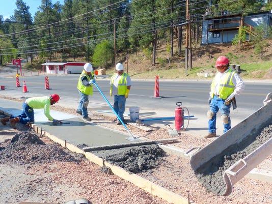 DOT sidewalk replacement