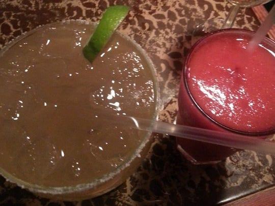 Margaritas from El Mariachi.